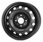 Диск TREBL 9680T R16 6.5/5*100 ET42 d57.1 Black Audi A3/VW Golf