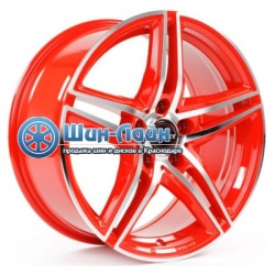 Диск Borbet XRT R17 8/5*112 Red Front Polished ET45 d72.5